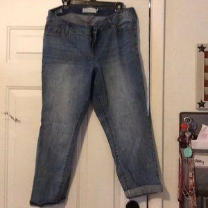 Like new Torrid ExBoyfriend Jeans size 16